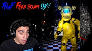 GOLDEN FREDDY PUNCHED THE HELL OUT OF ME! - Five Nights at Freddy's Unreal Engine 4 (Nights 5 & 6)