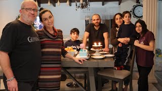 Празднуем День Рождения Бека Шашлык Торт Мороженое Эгине Семейный Влог Heghineh Vlogs
