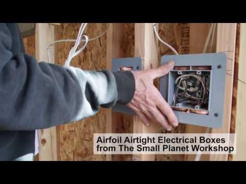 Sealing the Interior of a Zero Energy Home (ZEH)