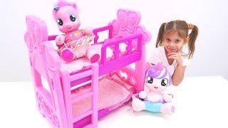 My Little Pony için oyuncak yatak monte ediyoruz