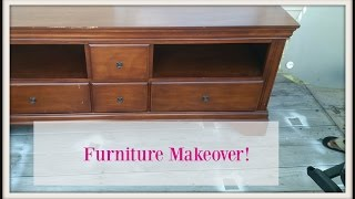 DIY| Goodwill Furniture Makeover!