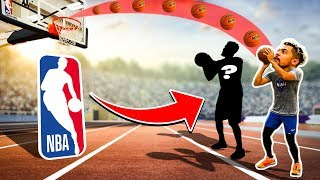 2HYPE Basketball Jumpshot Relay Race vs. NBA Player !!