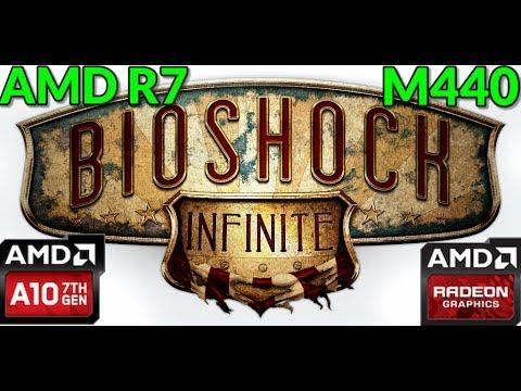 AMD Radeon R7 M440 Gaming Benchmark Bioshock Infinite