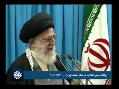 Ayatullah Khamenei on American threat! Friday prayers, FEB 2012