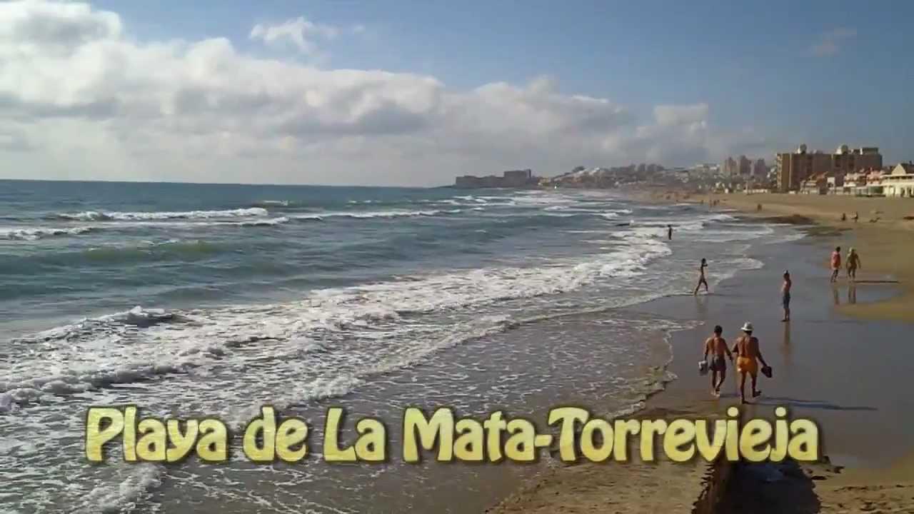 Playa De La Mata Torrevieja Youtube