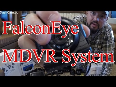 """FalconEye 3-4 Cam MDVR System With 7"""" LCD. - This Is Not A Paid Sponsorship."""