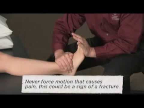 M.I.C.E. First Aid treatment for an ankle sprain