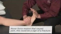 M.I.C.E. First Aid treatment for an ankle sprain