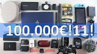 🎒il mio ZAINO TECH da 100 MILA€!11! per il CES di Las Vegas 🇺🇸