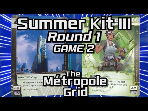 Netrunner Summer Kit III 2015: Round 1 - Game 2