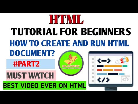HTML Tutorial For Beginners | Complete Course