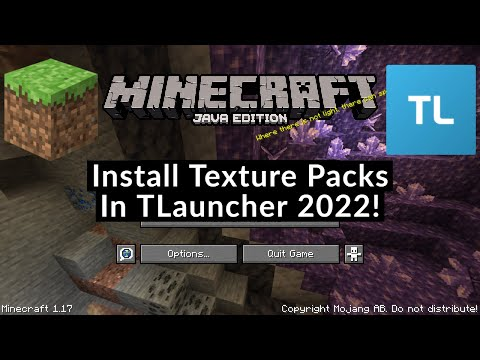 How To Install Texture Packs In TLauncher 2021