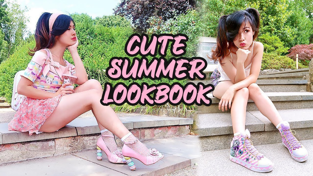 KAWAII FASHION | SUMMER LOOKBOOK | J-Fashion & K-Fashion 2