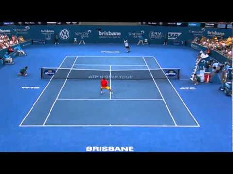 Lleyton Hewitt v Marius Copil - Highlights Men's Singles Quarter Finals: Brisbane International 2014
