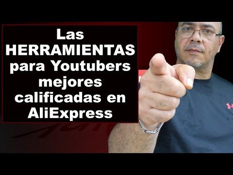 Los PRODUCTOS Para YouTubers Mejores Calificados En AliExpress 2019