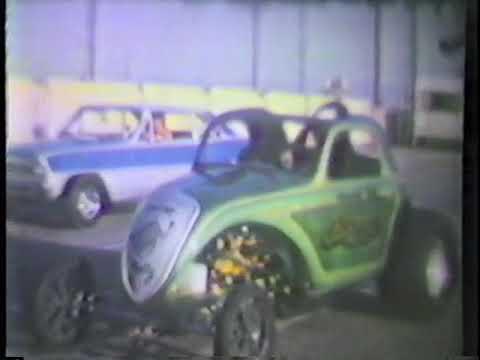 1970's Irwindale Drag Strip. Orange County International Raceway. 8mm