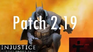Injustice Gods Among Us iOS - Patch 2.19