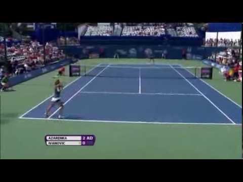 Carlsbad .Azarenka vs Ivanovic:Summary