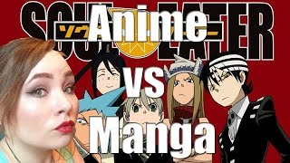 Anime vs Manga: SOUL EATER