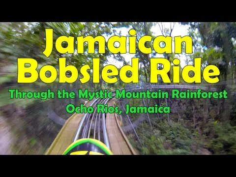 Jamaican Bobsled Adventure in Ocho Rios, Jamaica