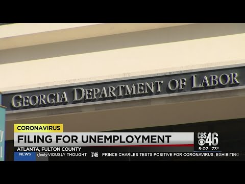 Georgia unemployment claims on the rise amid COVID-19
