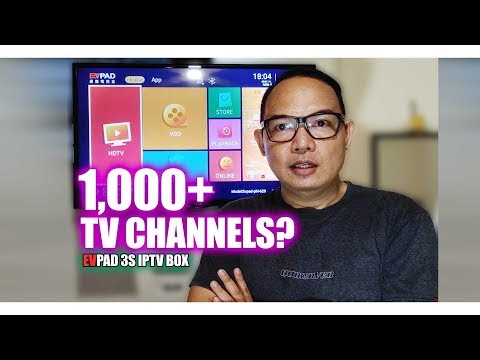 1,000 Plus TV Channels??? EV Pad TV Box | No Monthly Fee TV Box | Android TV Box