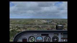 FSX scenic flight to Hanover Germany.