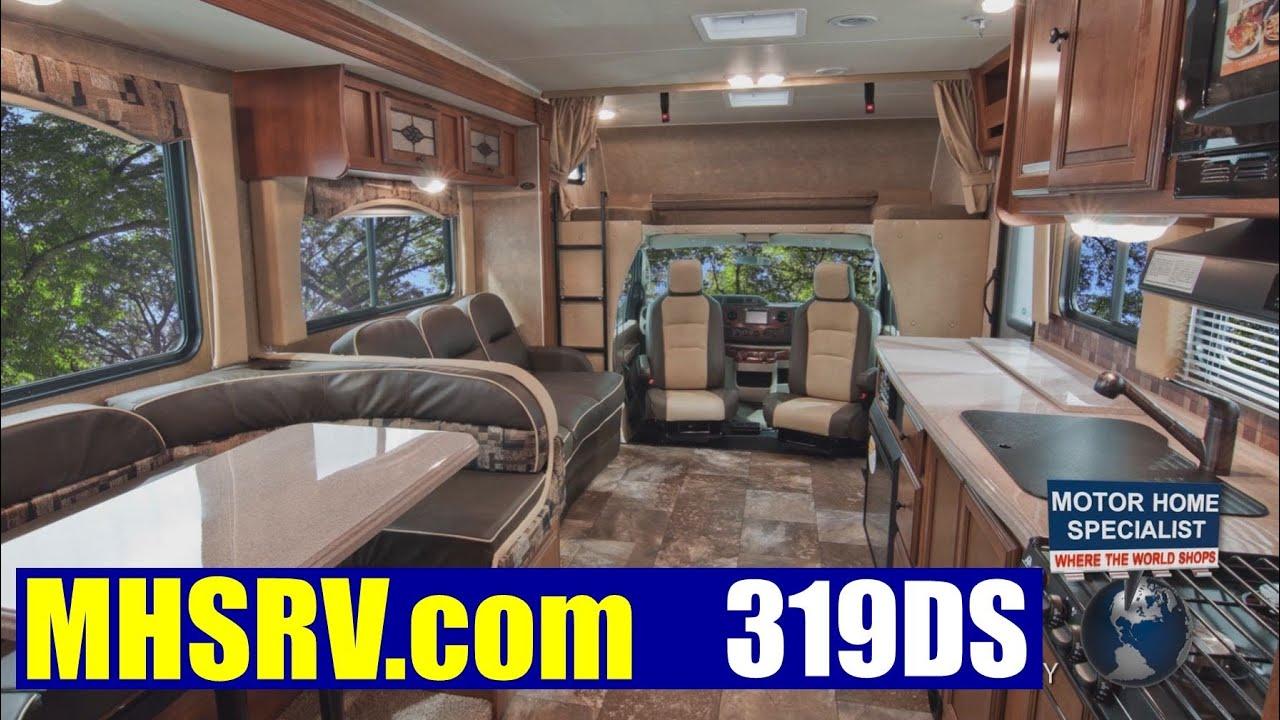 Motor Home Specialist review of Coachmen Leprechaun 319DS at MHSRV com
