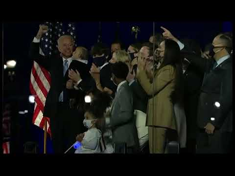 Primer discurso de Joe Biden como presidente electo de Estados Unidos