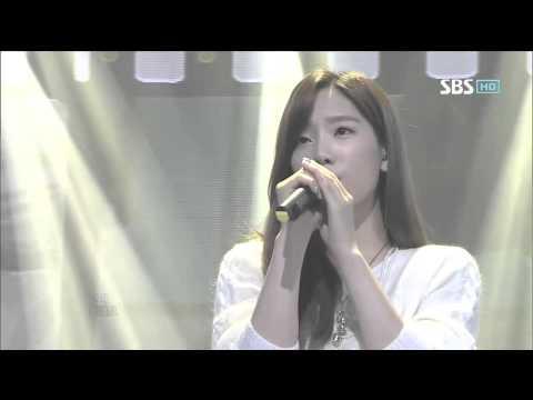소녀시대 태연 [가까이] @SBS Inkigayo 인기가요 20120916