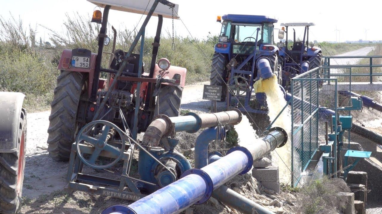 traktor arkasi santrifuj su pompasi