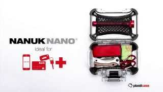 Nanuk 320 Nano Series Waterproof Medium Hard Case for Phones-Cameras and Electronics Blue