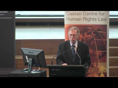 Human Rights abuses in North Korea (presented by Micheal Kirby)
