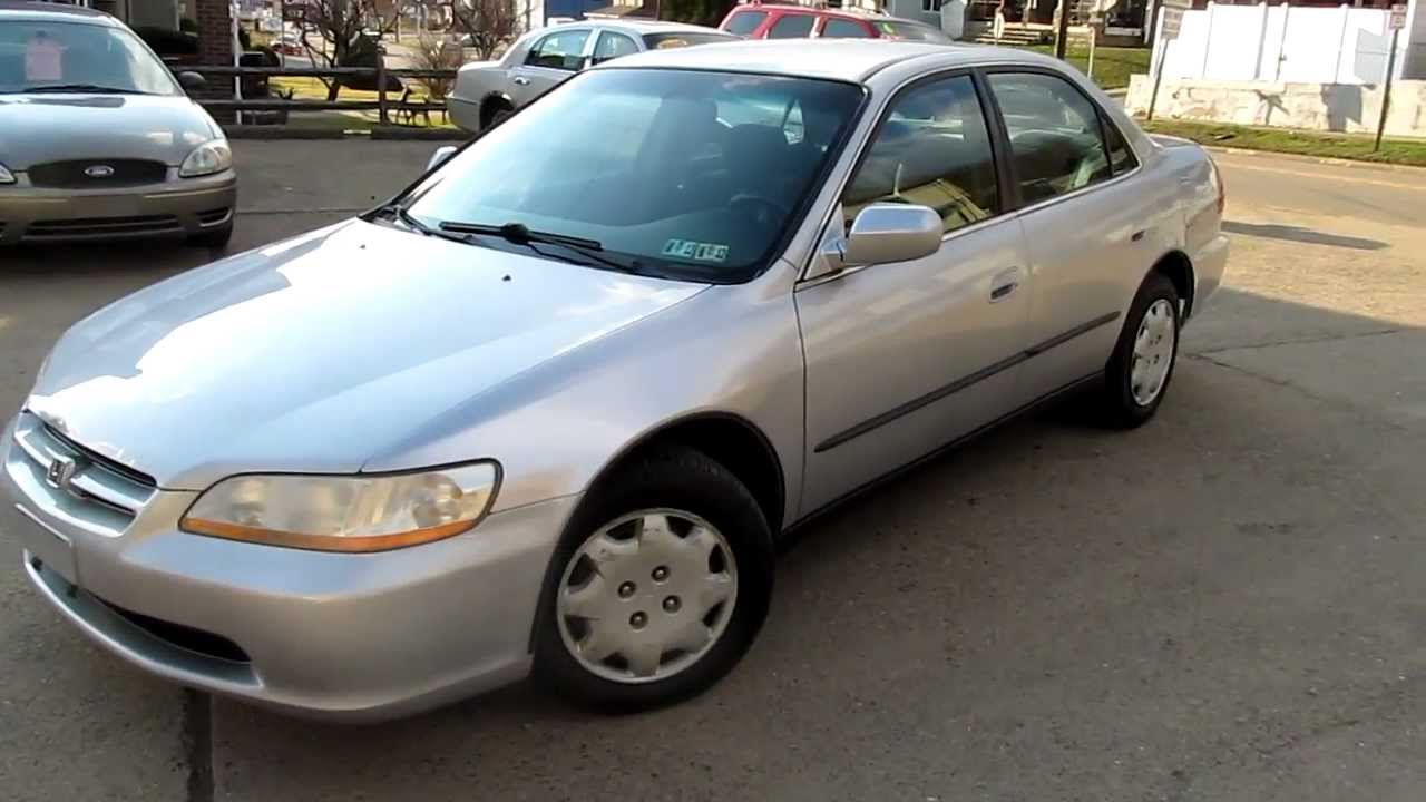 2000 honda accord lx low mileage youtube. Black Bedroom Furniture Sets. Home Design Ideas