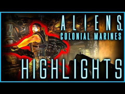 Aliens: Colonial Marines playthrough - highlights  