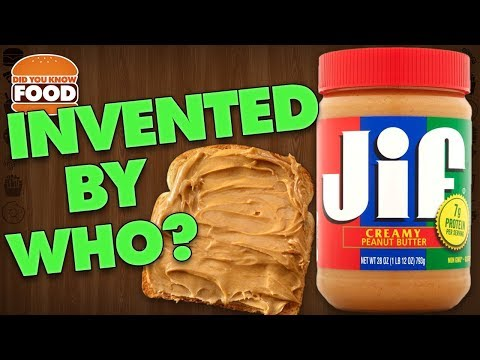 Who Invented Peanut Butter? (Peanut Butter Facts) - Did You Know Food Ft. Remix