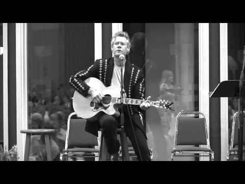 Randy Travis - He Walked On Water (Acoustic) [HD] 2013
