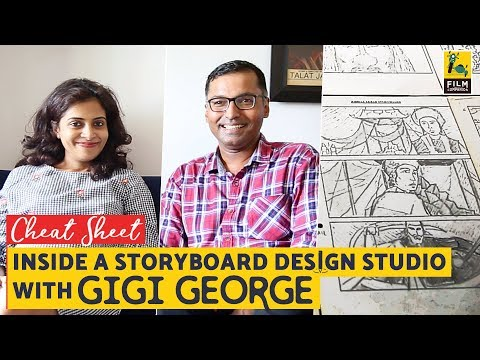 Inside A Storyboard Design Studio | Gigi George | Cheat Sheet I Film Companion