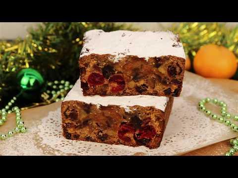 Рождественский Кекс/ Английский Кекс / много сухофруктов и цукатов