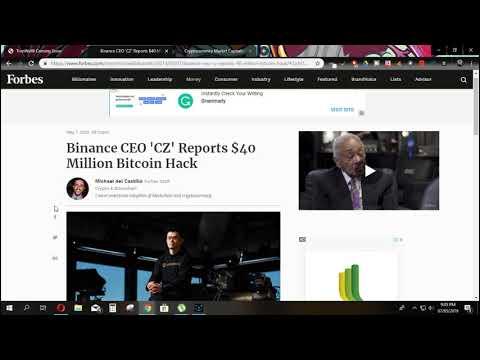Binance Hacked $40 Million And Popular Tron Dapp Also😱😱