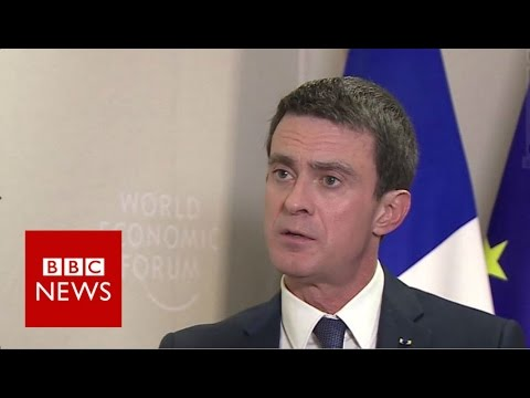 Manuel Valls: 'Europe is in grave danger over migration crisis' - BBC News