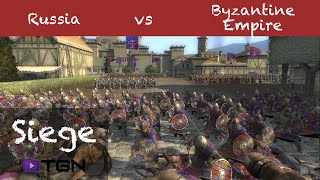 Medieval 2 Total War Online Battle # 96 (1v1 Siege) - No Allies!
