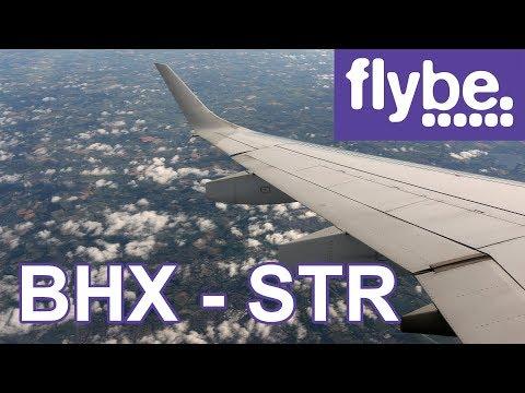 Flybe flight Birmingham - Stuttgart trip report