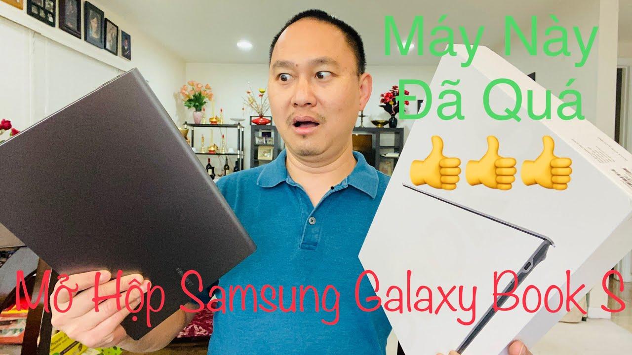 Mở Hộp (UNBOXING) Samsung Galaxy Book S LapTop Mới Nhất – Cuộc Sống Ở Mỹ