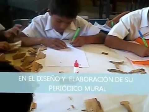 Elaboraci n de peri dico mural primero de secundaria for Como elaborar un periodico mural escolar