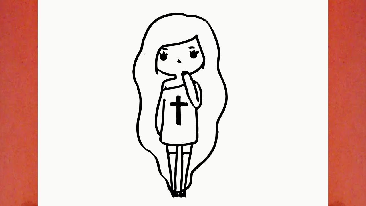 Como Desenhar Uma Bonequinha Tumblr (boneca, Garota