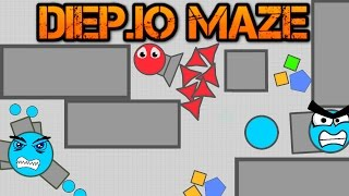 NEW DIEP.IO MAZE GAME MODE!! // Arena Closers vs Maze // Wall Glitches & Trolling