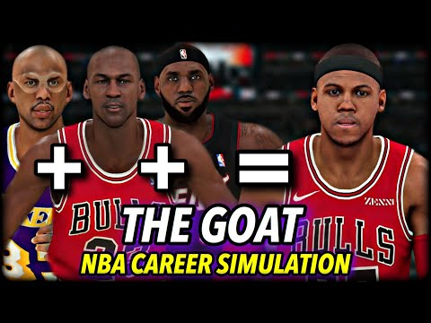 I Made The Greatest NBA Player Ever & Watched Him Break Every Record…   NBA 2K20 Career Simulation