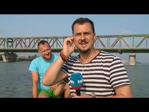 Ivanovo ukljucenje sa camca na reci! - DJS - (TV Happy 30.07.2019)