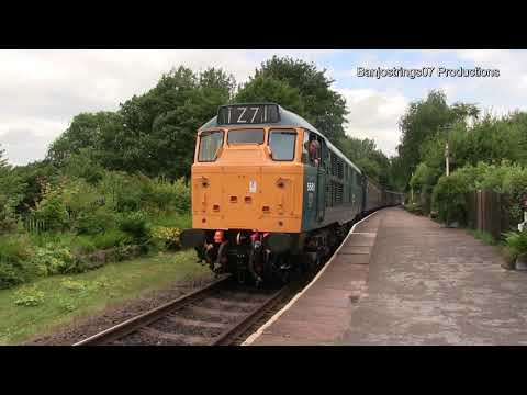 The Sounds of English Electric Diesel Locomotives